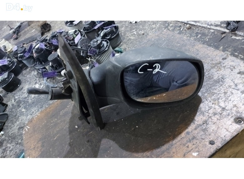 Зеркало наружное правое к Citroen C2 2005 г.