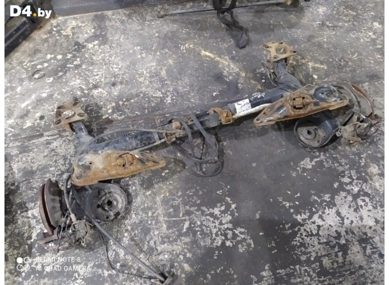 Балка подвески задняя к Citroen C4Picasso 2009 г.